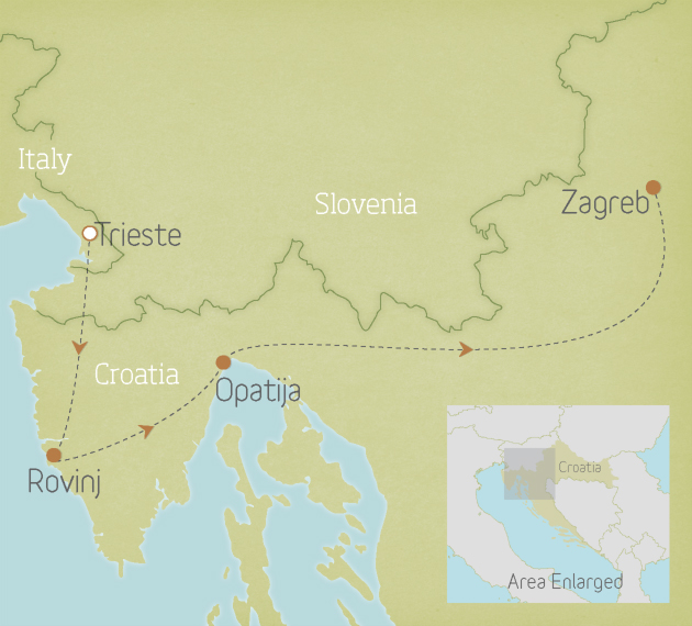 Croatia: The Istrian Peninsula 1