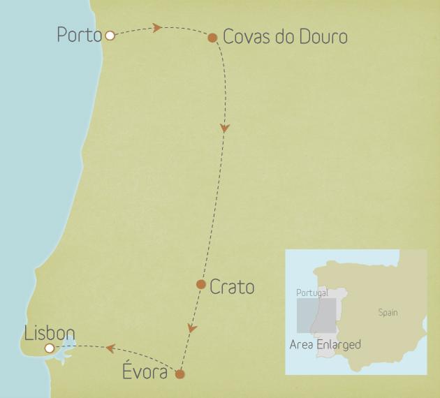 Portugal: Porto to Lisbon 1