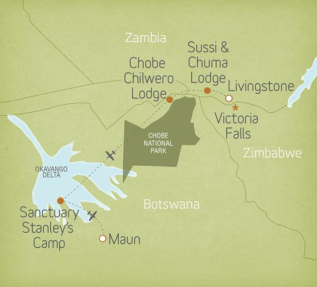 Botswana & Zambia Safari: Victoria Falls to the Okavango Delta 2