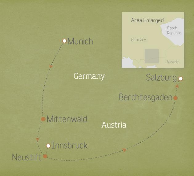Austria & Germany: Bavaria & the Tyrol 2