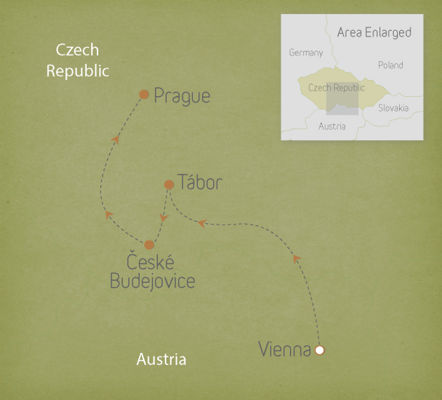 Czech Republic: Vienna to Prague 1