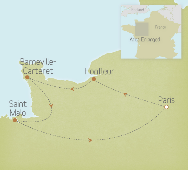France: Normandy & Brittany 1