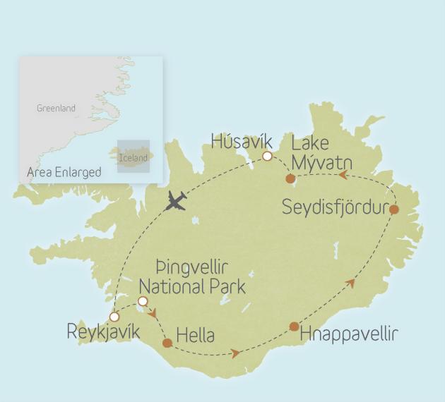 Iceland: Reykjavík & National Parks 2