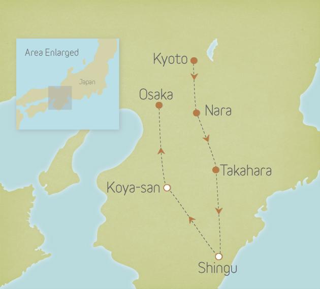 Japan: Kyoto, Nara & the Kumano Kodo 1
