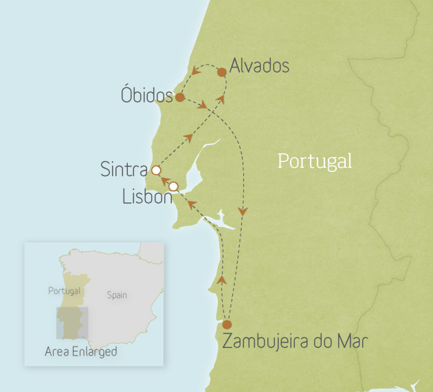Portugal: Sintra, Óbidos & the Coast 1