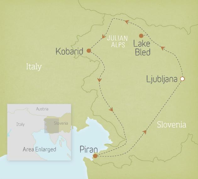 Slovenia: Julian Alps to the Adriatic 1