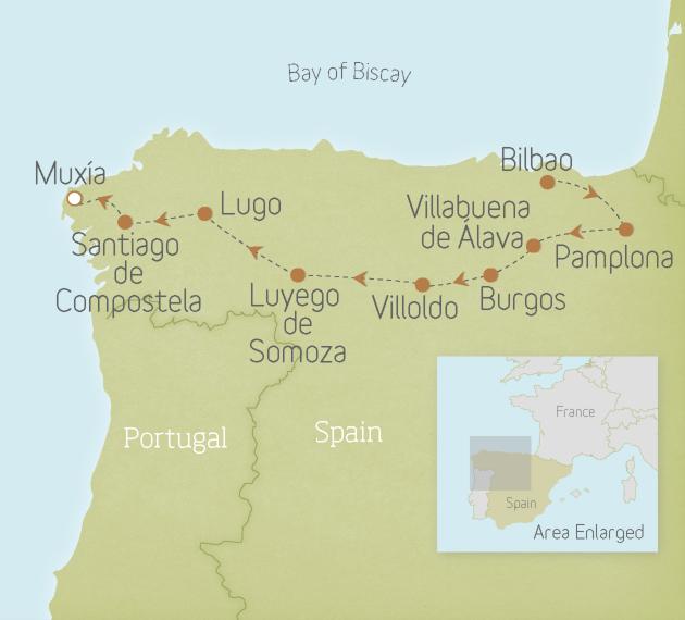 Spain: Classic Camino de Santiago
