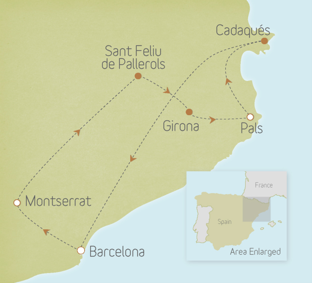 Spain: Barcelona to the Costa Brava
