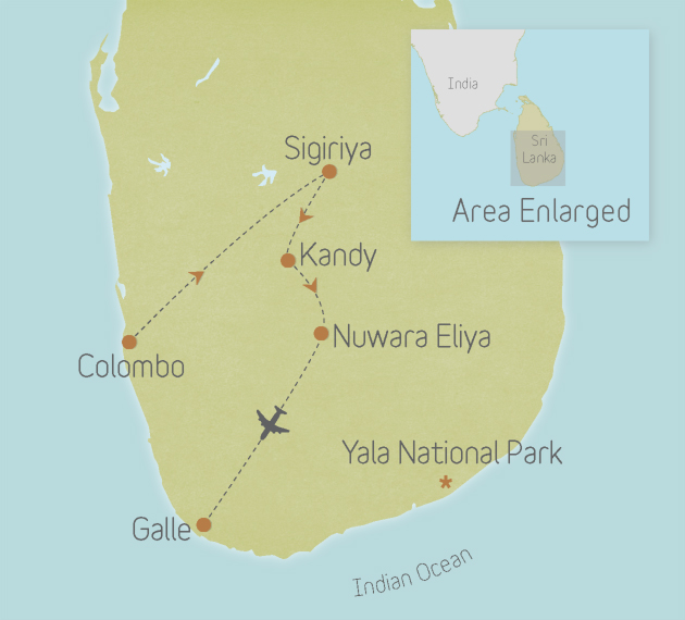 Sri Lanka: Ancient Temples & Tea Trails 1