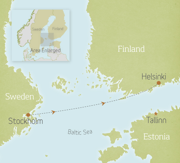 Sweden & Finland: Stockholm to Helsinki 1