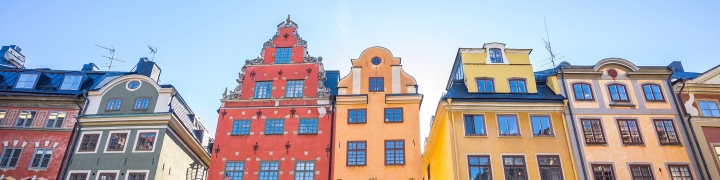 Gamla Stan old town in Stockholm city, Sweden.