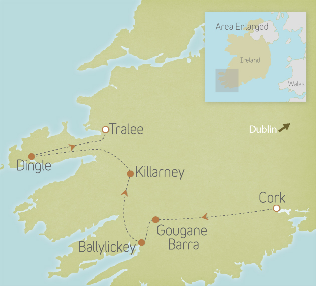Ireland: Cork & Kerry