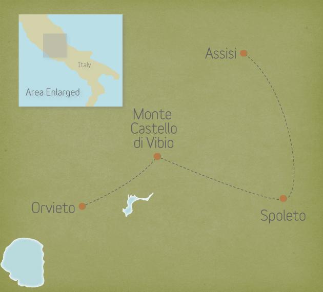 Italy: Umbria & Assisi