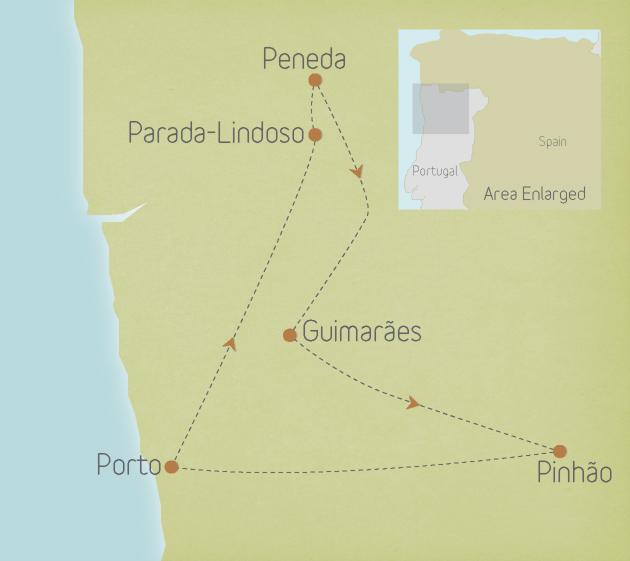 Portugal: Porto, Minho & Douro Valley
