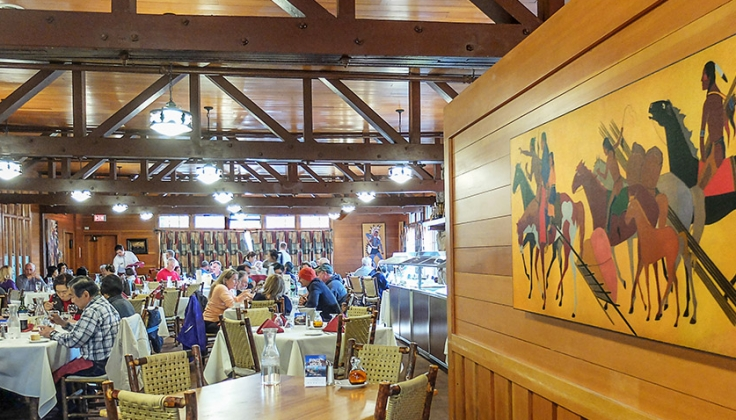 Bryce Canyon Lodge Dining area