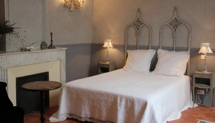 Cote Lourmarin bedroom