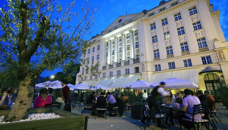 Esplanade Zagreb Hotel Summer Night