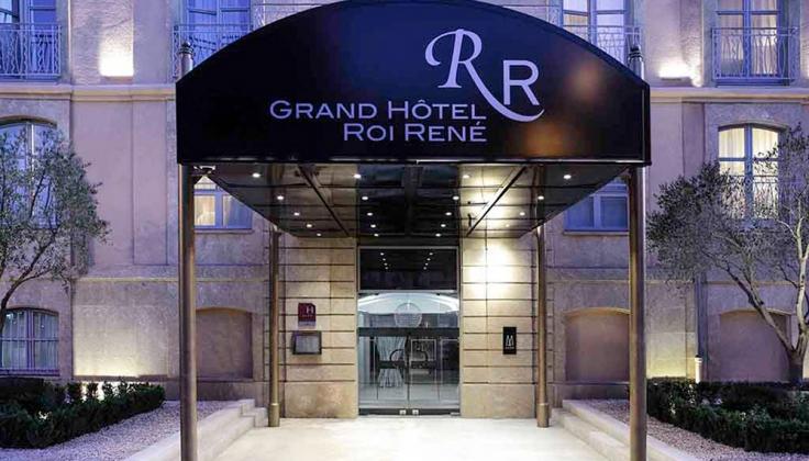 Grand Hotel Roi René Aix-en-Pce