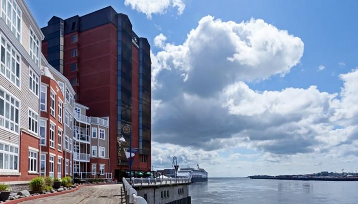 Hilton Saint John Hotel exterior