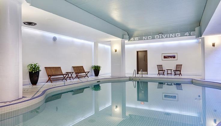 HIlton Saint John Hotel pool
