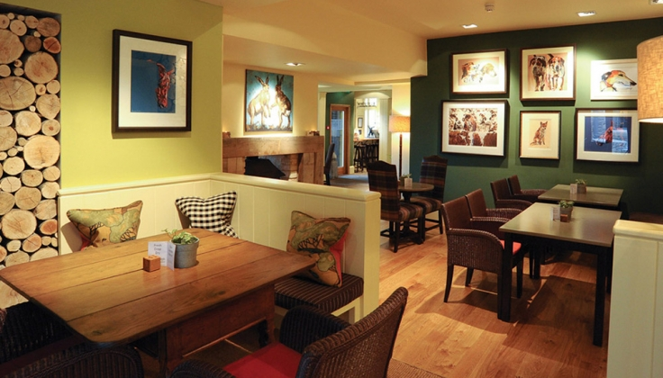 Hare and Hounds Hotel restaurant