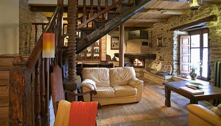 Hosteria Camino lounge