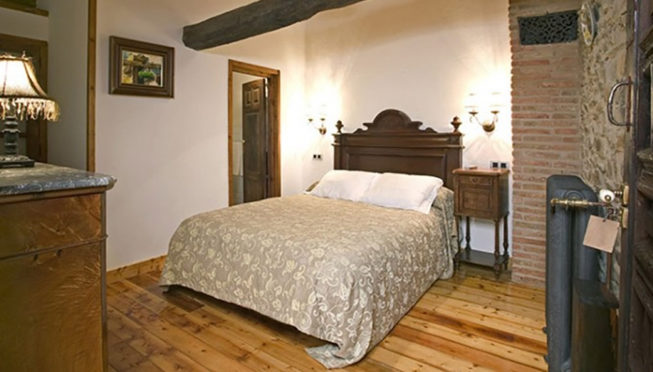 Hosteria Camino bedroom