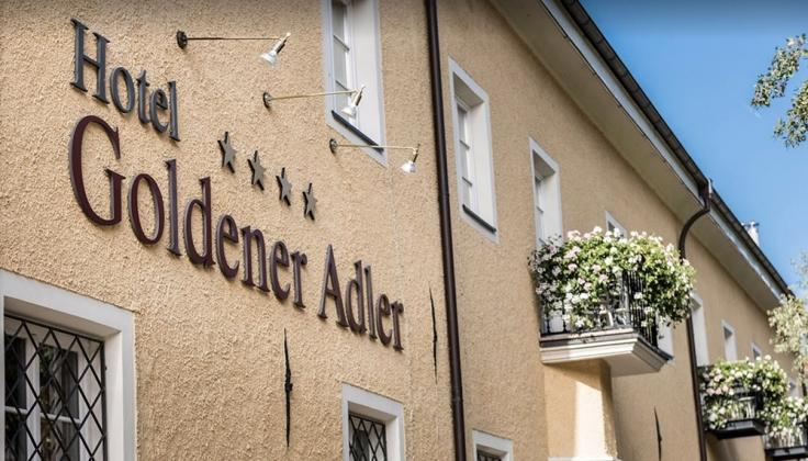 Hotel Goldener Adler Exterior