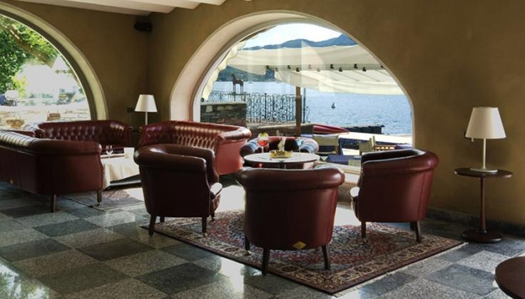 hotel san rocco lounge area