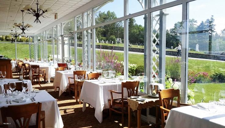 Hotel Tadoussac dining