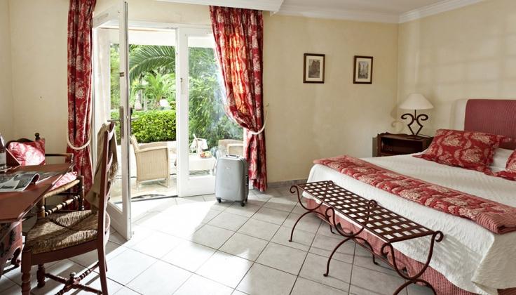 Hotel la Magnaneraie bedroom