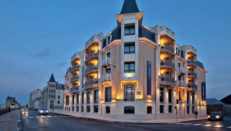 Hotel-le-Nouveau-Monde, Brittany