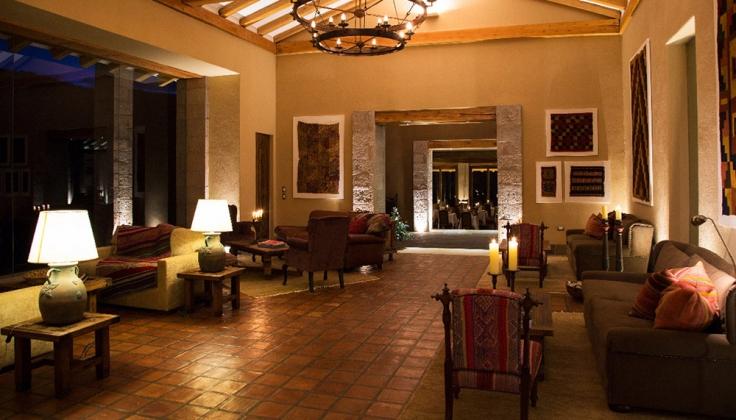 Inkaterra Hacienda Urubamba lobby