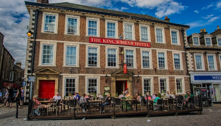 The King's Head Hotel exterior