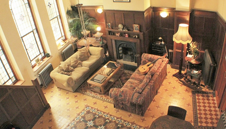 La Flamenca Inn livingroom