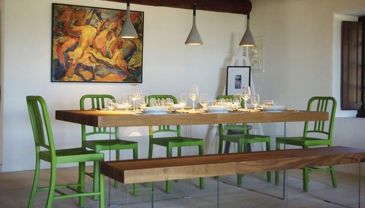 Les Balcons du Luberon dining