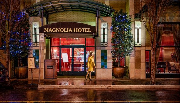 magnolia hotel exterior