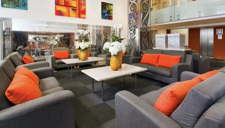 Mamaison Andrassy Hotel lobby