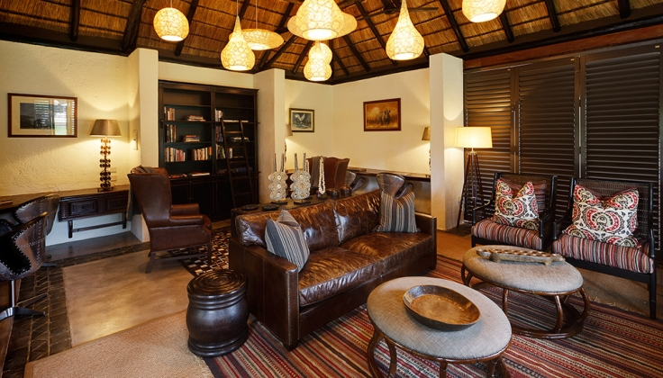 Mfuwe Lodge inside