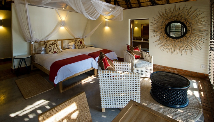 Mfuwe Lodge room