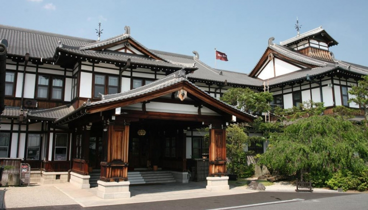Nara Hotel exterior entrance