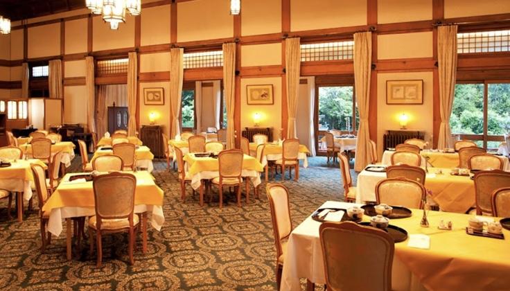 Nara Hotel dining area