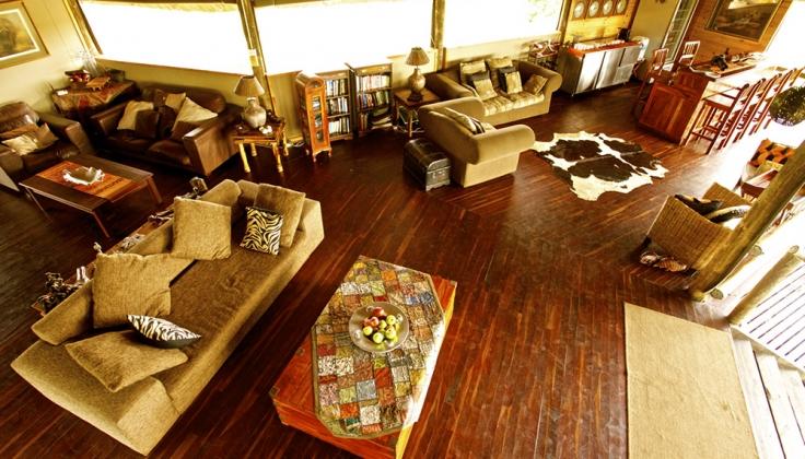 Nehimba Lodge lounge