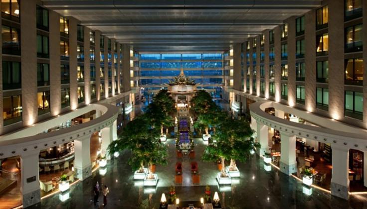 Novotel Suvarnabhumi Airport Hotel lobby