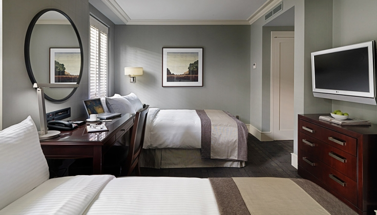 St Regis Hotel bedroom