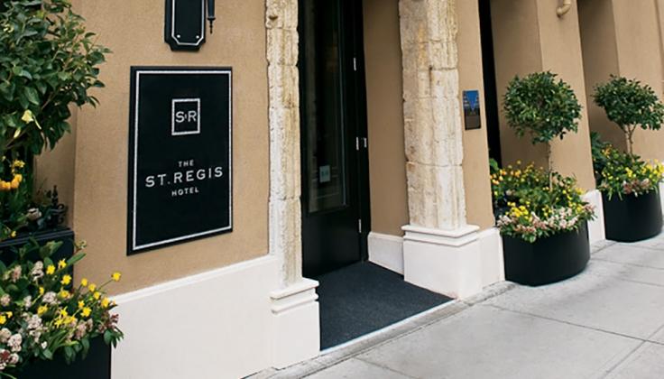 St. Regis hotel exterior