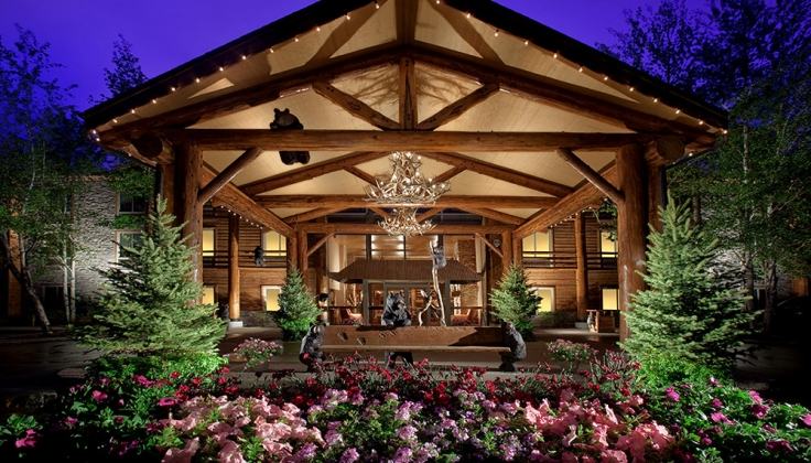 The Lodge at Jackson Hole entrance