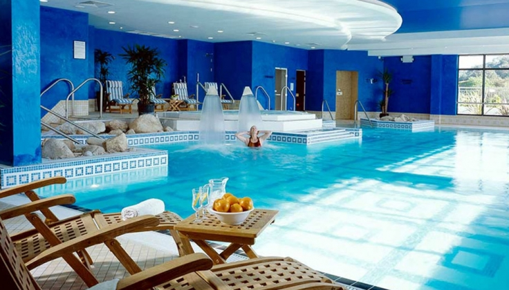 The Trident Hotel pool