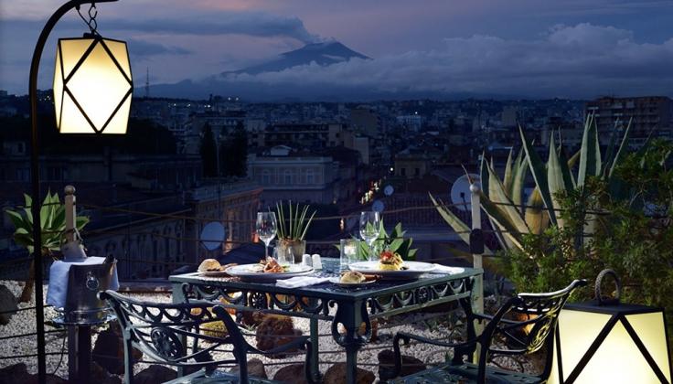 UNA hotel palace terrace