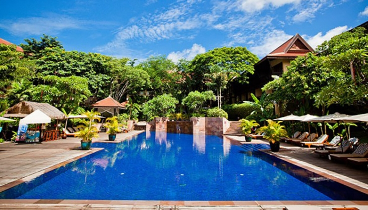 Victoria Angkor Resort exterior pool